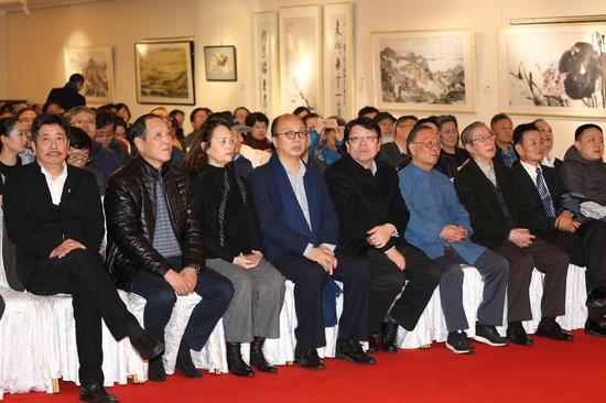 领导嘉宾出席上海艺术馆开馆典礼