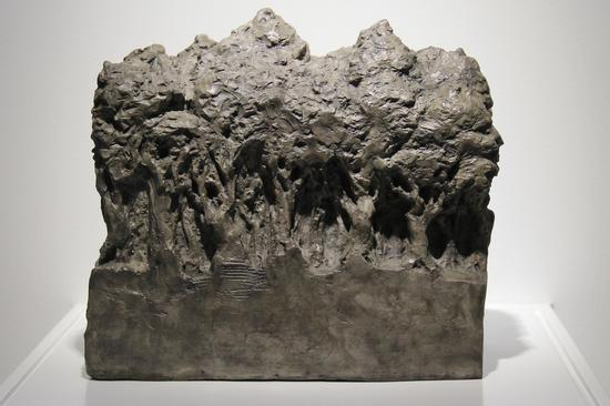 康靖《森林1#》 20×16×18CM 铸铜化学着色 2012