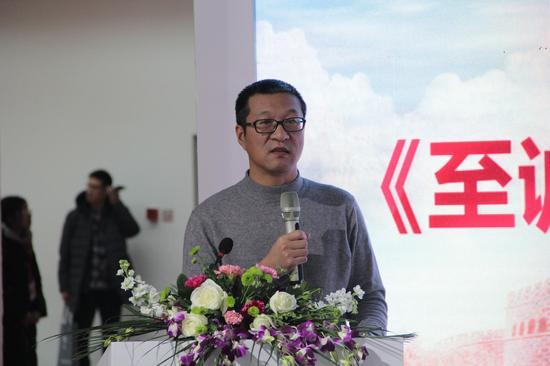 《至诚报国 黄大年》绘图作者著名人物画画家王东明