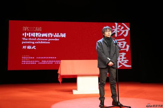 入选作者代表吴静涵开幕式发表感言