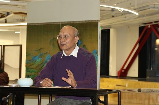 农业部专家、《中华茶通典》主编穆祥桐老先生