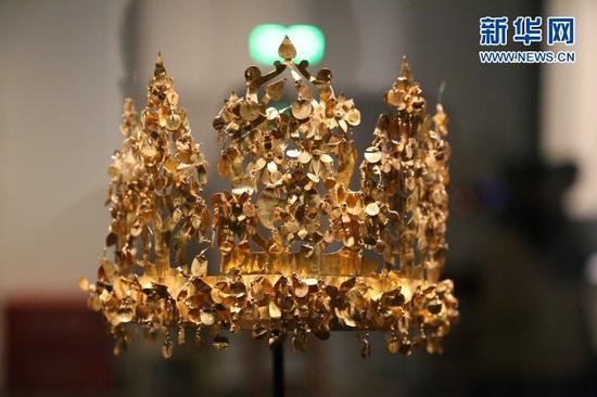 黄金王冠。俞全威 摄