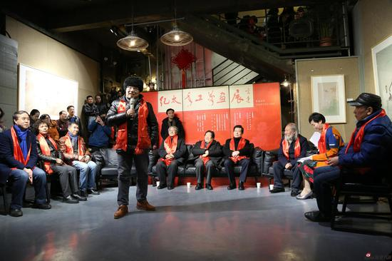 江苏省作家协会副主席 丁帆先生致辞