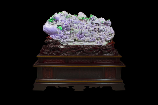 方卡东玉雕作品《百子图》