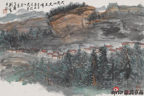 武夷山写生二(52X78)2010