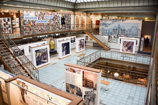 比利时漫画博物馆内景图