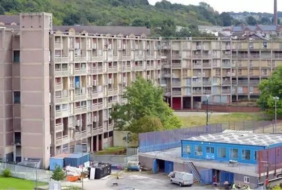 约克郡的这座公寓大楼将被改造成为综合艺术空间.图片:Yorkshire Post.