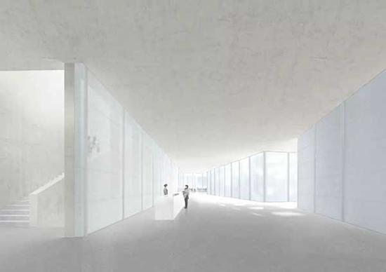 西岸美术馆内部空间效果图