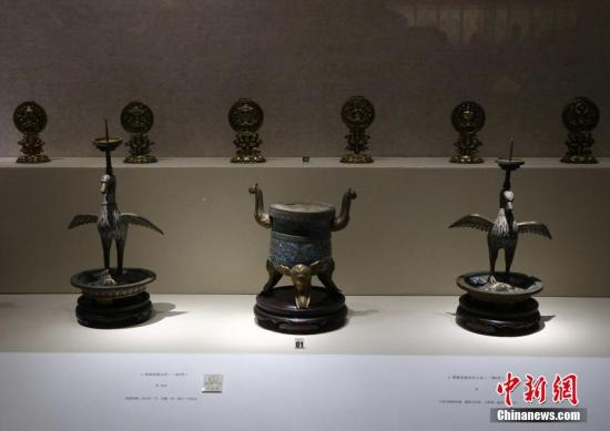 资料图 文物。 中新社记者 泱波 摄