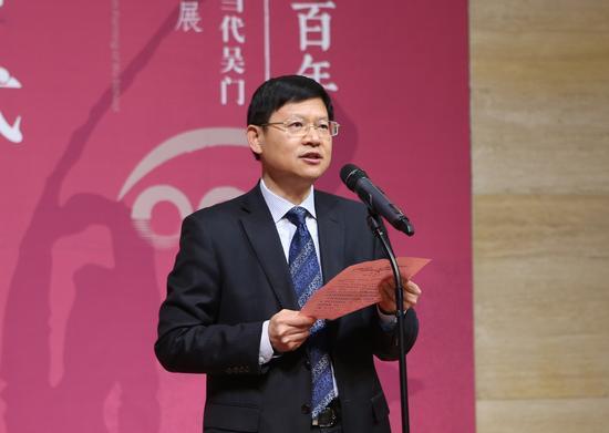 苏州市委副书记、代市长李亚平在开幕式上致辞