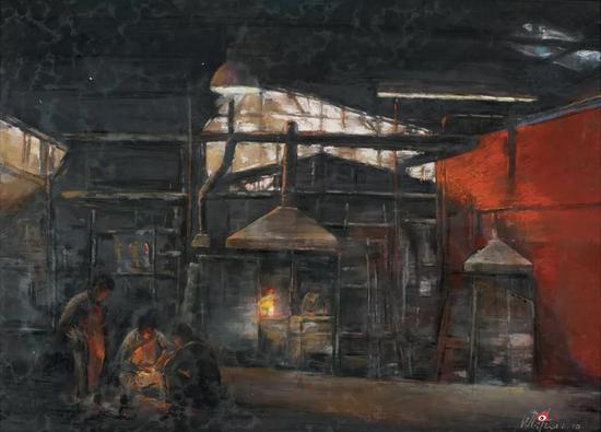 王兆红[江苏] 匠・工坊 75×108cm