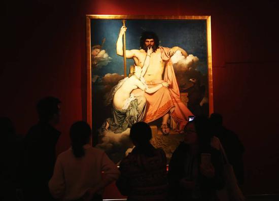 103幅法国学院派巨作珍品亮相国家博物馆