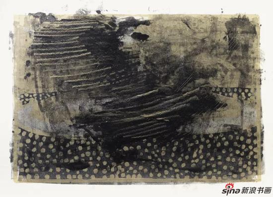 刘彤彬 No.15-06?独幅木版 35cm×45cm