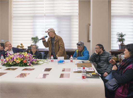 中央民族大学教授、中国美术家协会民族美术艺委会秘书长先生曹宝泉先生致辞