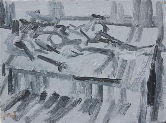 马杰 N-3 30x40cm 布面油画