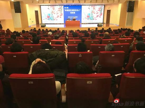 江苏省中国画学会会长高云艺术讲座在淮安举行