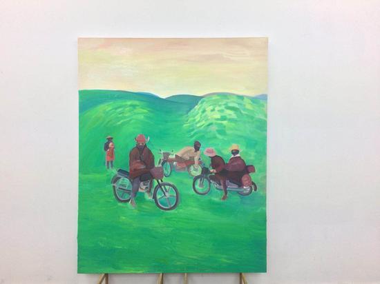 余果 《川西》200x180cm 布面油画
