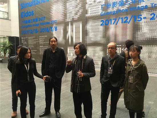 广东美术馆馆长王绍强介绍展览