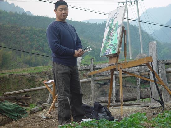 2003年夏 北京郊区写生