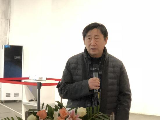 北京798艺术区管委会党支部书记张国华开幕致辞