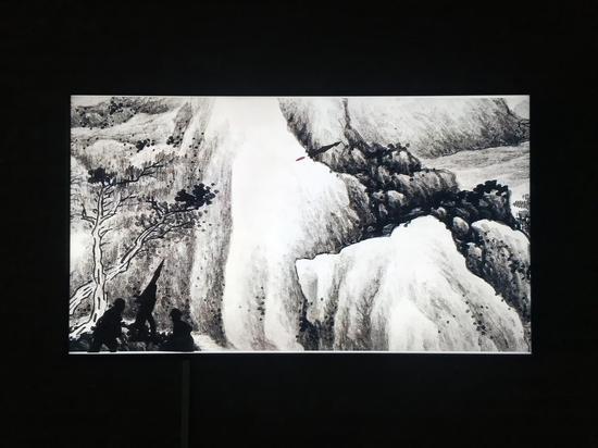 关伟,《纸上谈兵》,5 分钟,2015