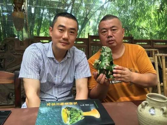 胖哥和深圳望野博物馆馆长阎焰老师一起考察邛窑
