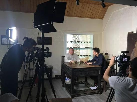 中央电视台微电影频道采访胖哥