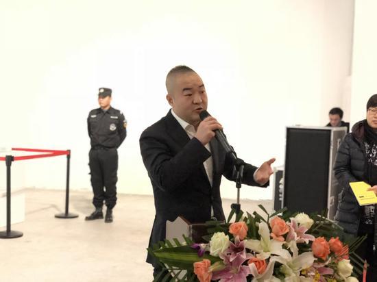 白盒子艺术馆馆长孙永增开幕致辞