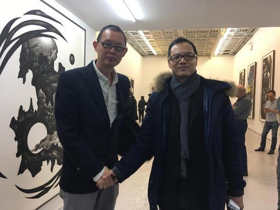 《新周刊》前主笔胡赳赳来参观