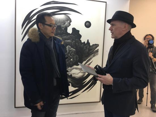 纽约艺术学院绘画系主任Peter Drake