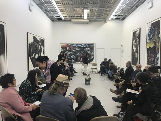 一月29日的纽约艺术家座谈