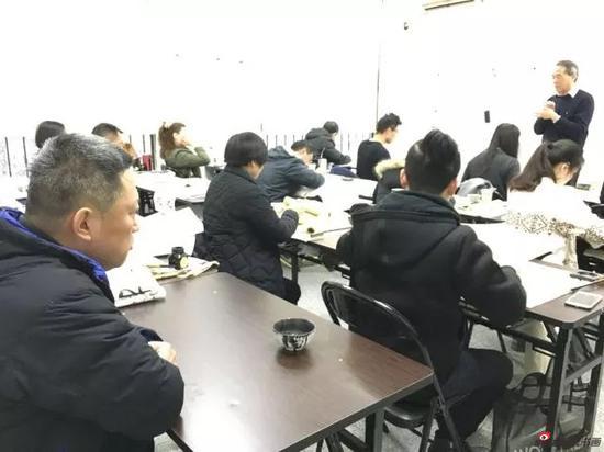 图为郑振华书法研修班开班图片