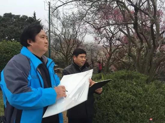 江苏省中国画学会副会长 张广才写生采风
