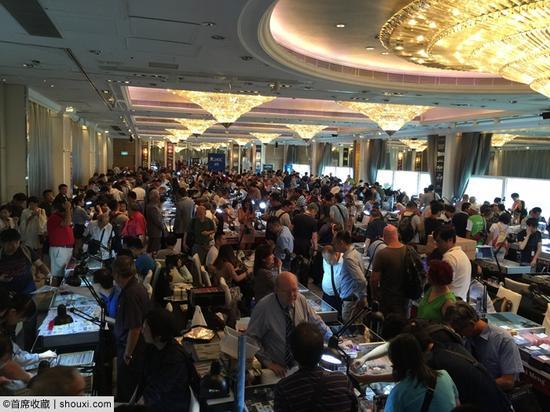 第三届香港国际钱币联合展销会(HKCS)现场