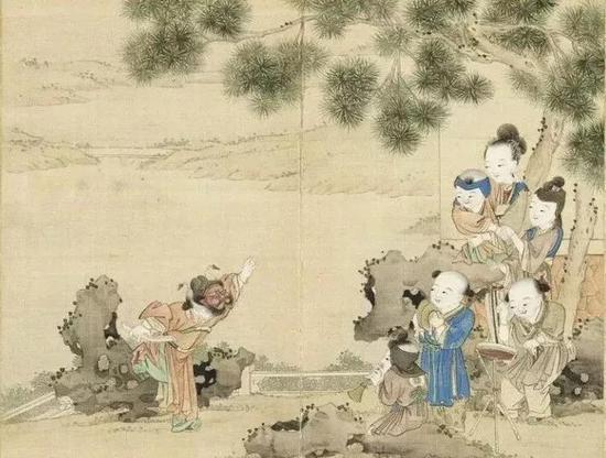 《升平乐事》图册,其中记载了各种花灯名录,并配以图片加以说明。
