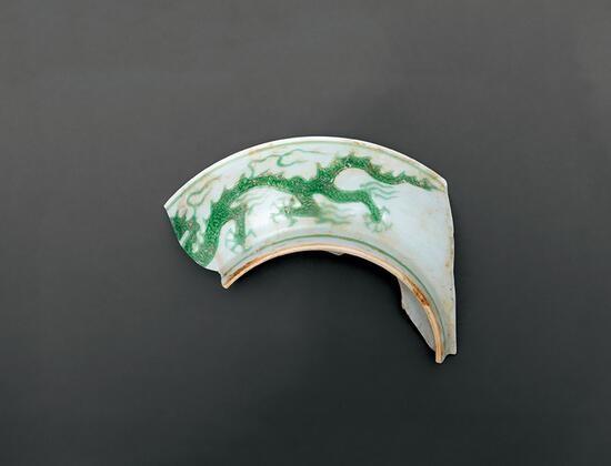 杂色釉素三彩:色彩缤纷的弘治朝瓷器