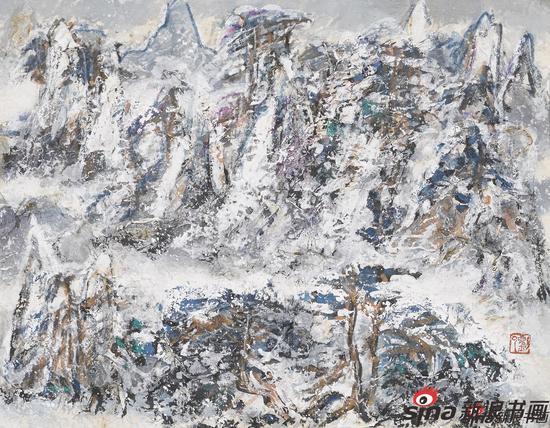 雪景三(32X40)2003