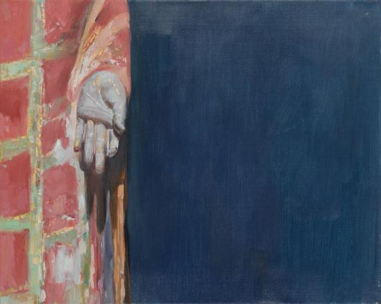 杨勇 禅系列二 布面油画-40x50cm