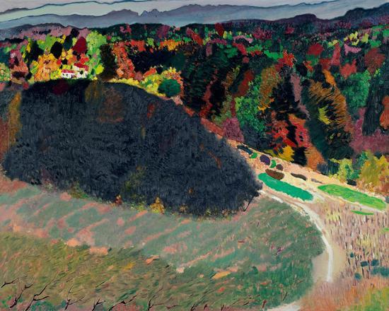 陆安大裂谷之十二  2017年   200.1×160.2cm