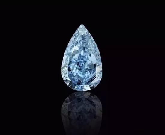 GRAFF出价360万美元购得4.03克拉蓝钻