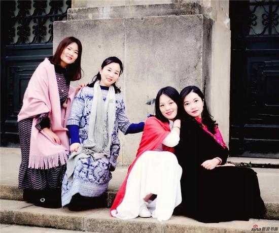 刘红、陈姗、陆林、高筱媛(从左至右)