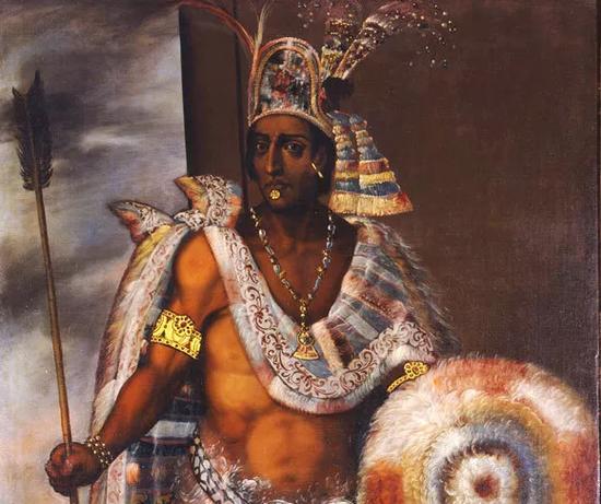 蒙特苏马画像