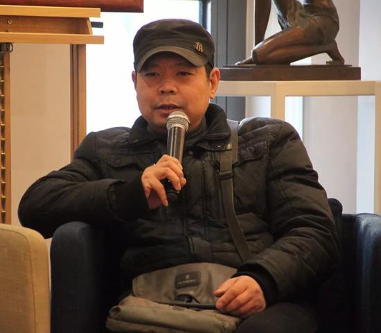 中国油画院著名画家徐晓东先生致辞