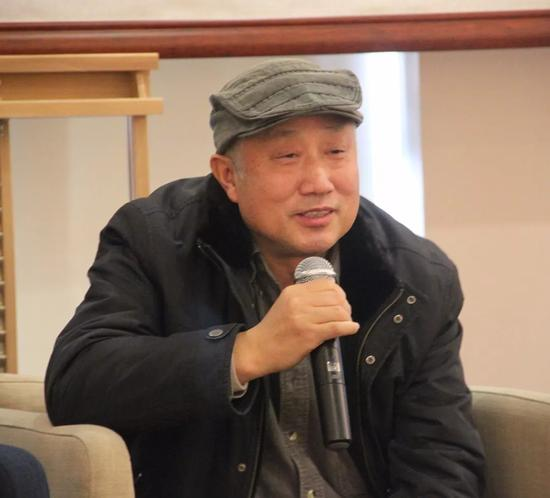 中国油画院著名画家王晓宏先生致辞