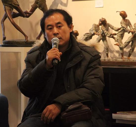 中国油画院课题组研究员徐广志先生致辞