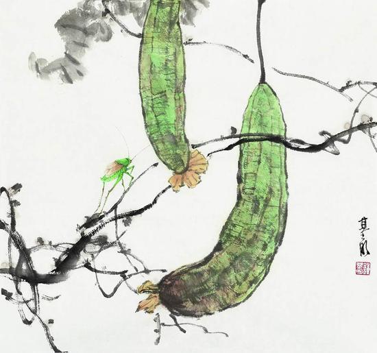上海美协中国画花鸟画艺术沙龙画展隆重开幕图片