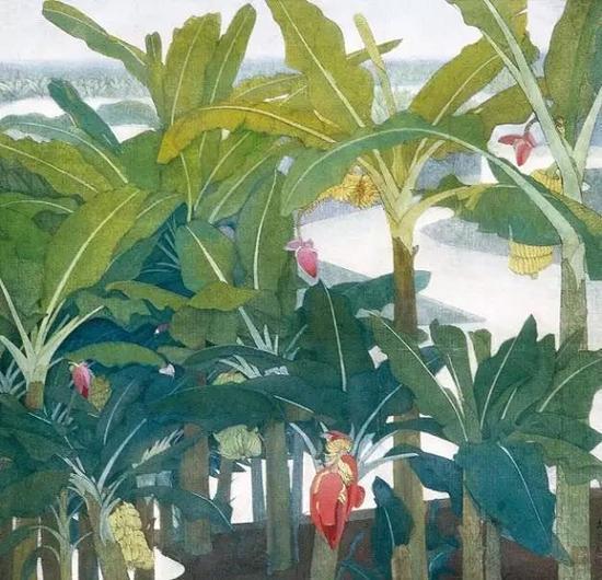 《香蕉园》 袁运甫 1978年