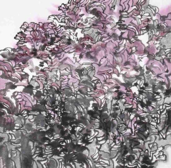 非花系列二 68×68cm