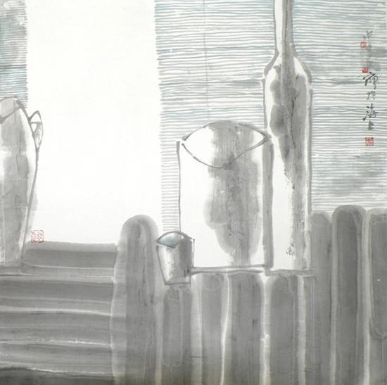 瓶系列五 68×68cm