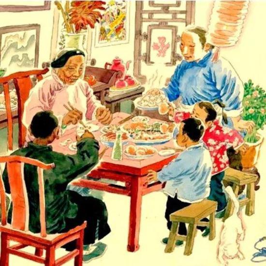于大武《北京的春节》